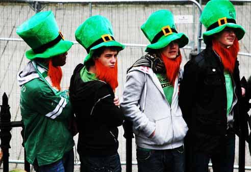 Elfos irlandeses.