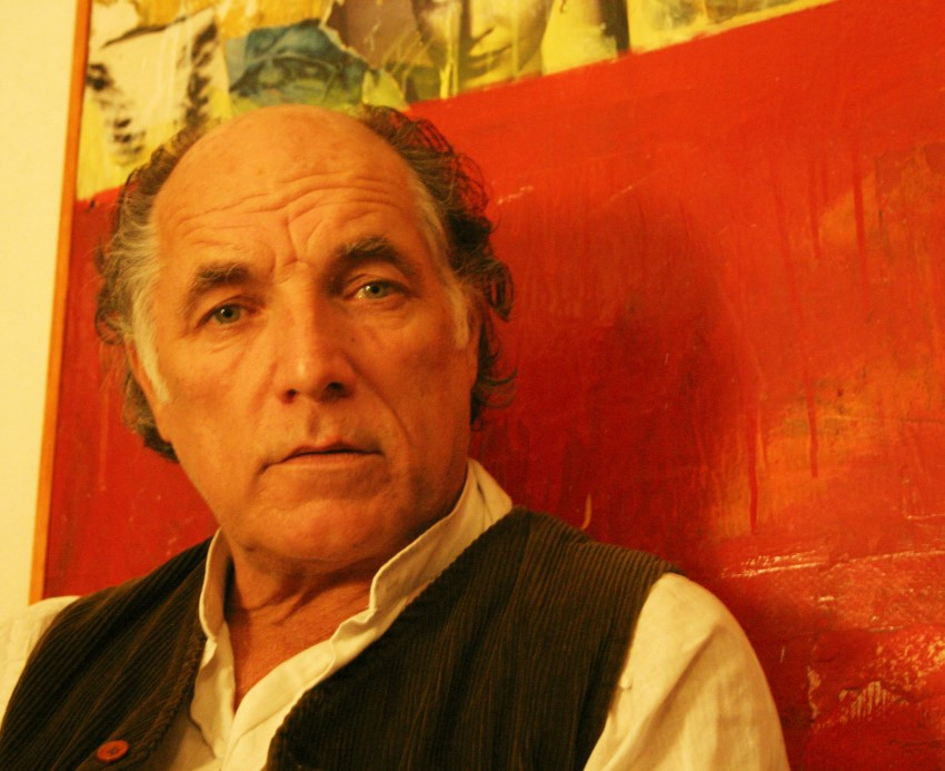 David Templeton-Pintor afincado en Deià autor de diversos retratos del escritor Robert Graves.